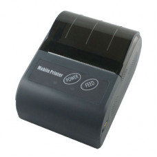 UCOM 02 Thermal Mobile Printer -USB, Bluetooth, Black, 58mm paper
