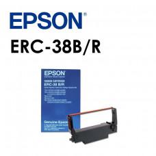 原裝EPSON ERC-38B/R紅黑色